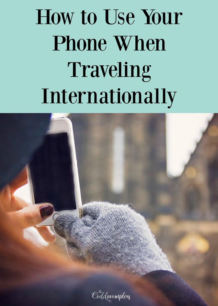 Traveling internationally can be daunting, especially when you don't know how to keep in touch with everyone back home. Here's how to use your phone abroad!