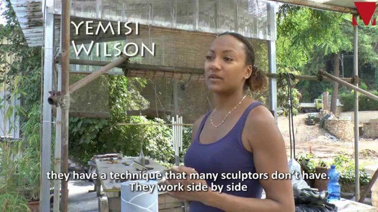 Intervista a/ Interview whit YEMISI WILSON - artista/artist