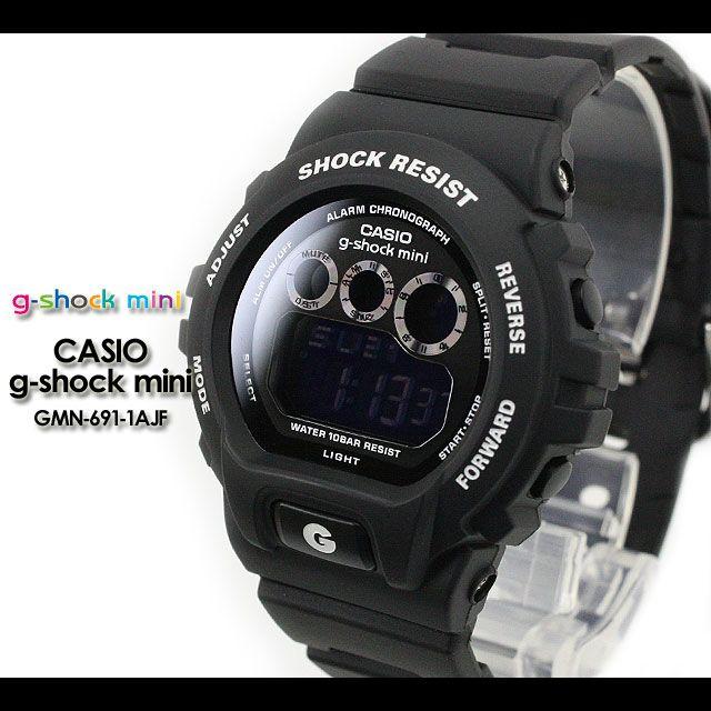 Rakuten: CASIO/G-SHOCK/G shock G-shock G- shock mini g-shock mini/ women watch GMN-691-1AJF/matte black Lady's [fs01gm]- Shopping Japanese products from Japan