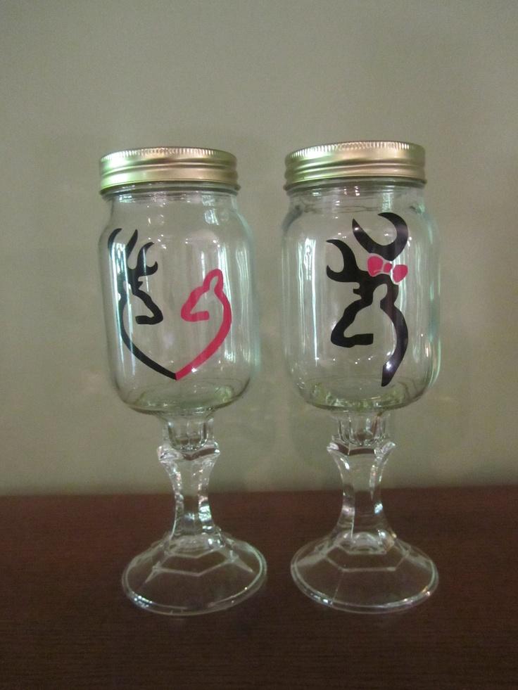 10 Best Ideas About Mason Jar Wine Glass On Pinterest