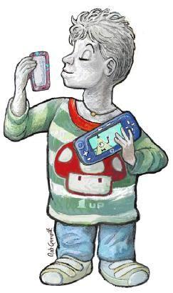 """Elia Di Gioia, otto anni, brindisino, viene per la seconda volta a #Rimini alla Festa della Rete, dopo aver spopolato in tutte i laboratori di programmazione per ragazzini. Aggiornatissimo su tutte le nuove uscite nel mondo dei giochi elettronici é stato invitato, lui e famiglia, tutto spesato, alla Gamescom di Colonia, """"The world's largest trade fair and event highlight for interactive game"""", dove, si dice, abbia avuto un pranzo riservatissimo con i fratelli Mario e Luigi in persona."""