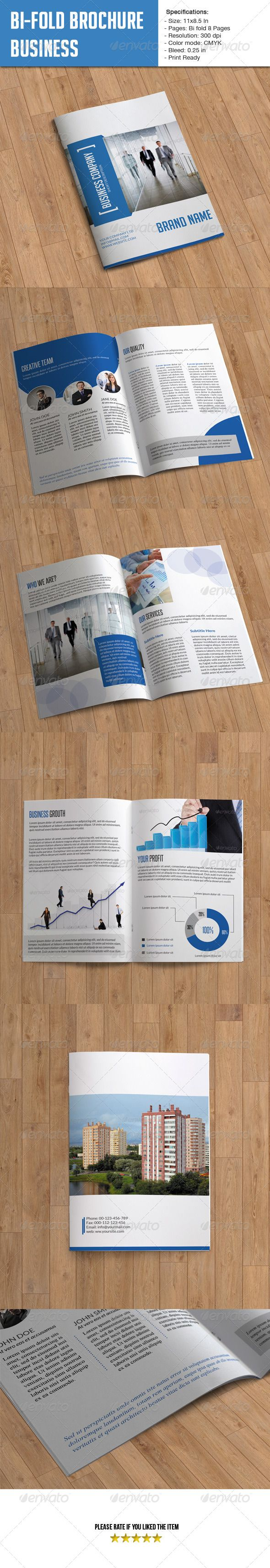 Bifold Brochure for Business 8 Pages The