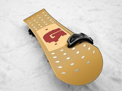 BURTON snowboard graphic