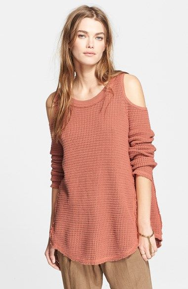 Free People 'Sunrise' Cotton Pullover available at #Nordstrom