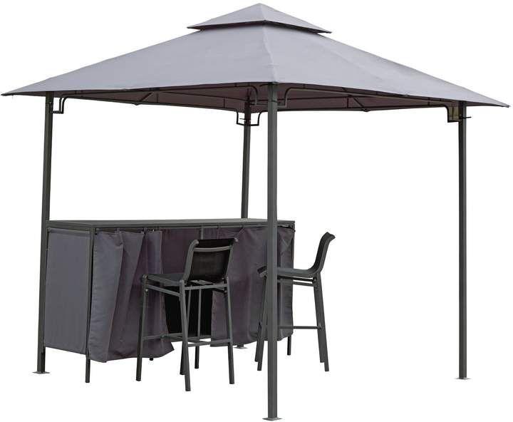 Argos Home Bar Gazebo Table Chairs Set Argos Home Gazebo