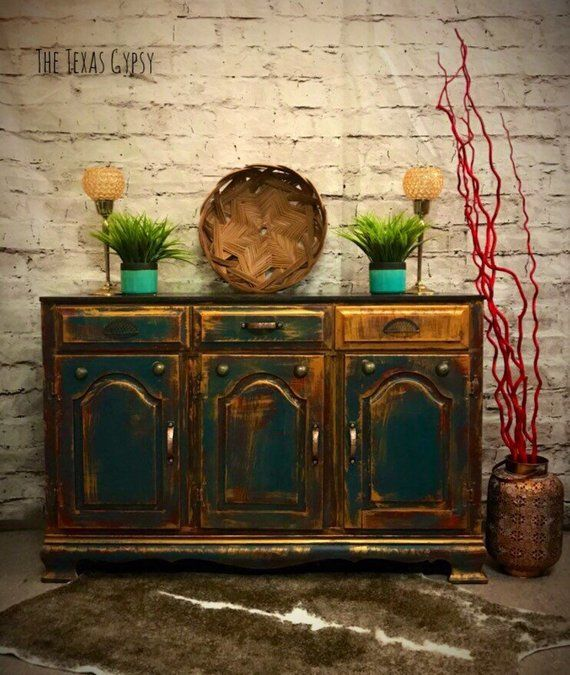 boho style buffet entryway furniture sideboard credenza desk rh pinterest com