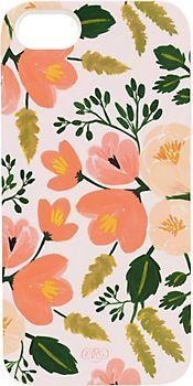Botanical Rose iPhone Case