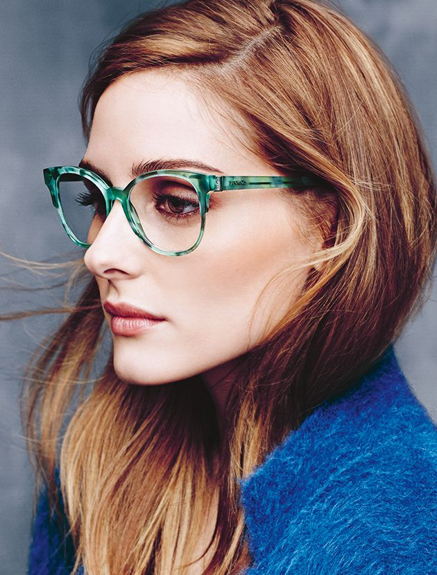 MAX&Co. A/W 2015 Eyewear Campaign featuring Olivia Palermo. Ph. Erik Torstensson, styling Tom van Dorpe.