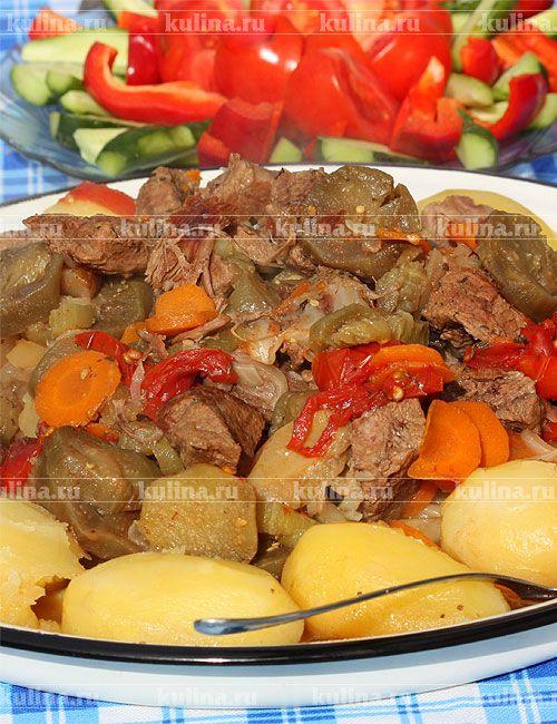 Дымляма с говядиной - рецепт с фото