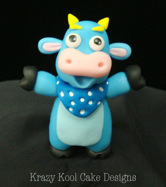 Benny From Dora The Explorer Cake Topper by KrazyKoolCakeDesigns, $65.00