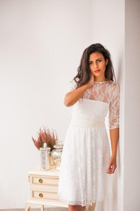 Langärmliges Spitzen Brautkleid ganze Spitze Brautkleid von mimetik
