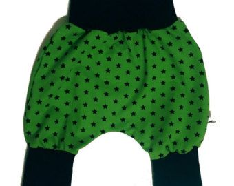 Check out Baby kids toddler girl boy clothing harem pants baggy pants sweat pants, blue green stars, boys outfit. Size preemie - 3 y on minikibabyandkids