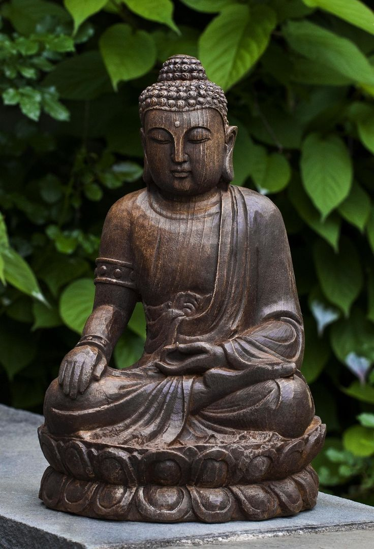 Cast Stone Buddha Garden Statue With An Antique Finish Is Perfect For That  Quiet Meditation Spot