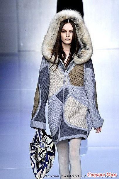 Куртка с подиума от Лауры Биаджотти - Вязание - Страна Мам