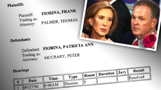 Home Wrecker? Carly Fiorina Started Dating New Husband Months BEFORE He Left First Wife –– Ex Tells Radar 'You'll Figure Out The Kind Of Person She Is!'