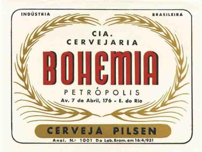 Rótulo da Bohemia