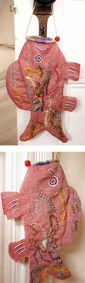 Koi Fish bag - by Lambert - Etsy