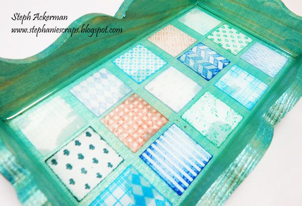 Live Laugh Scrap with Steph Ackerman: Sweet Altered Tray