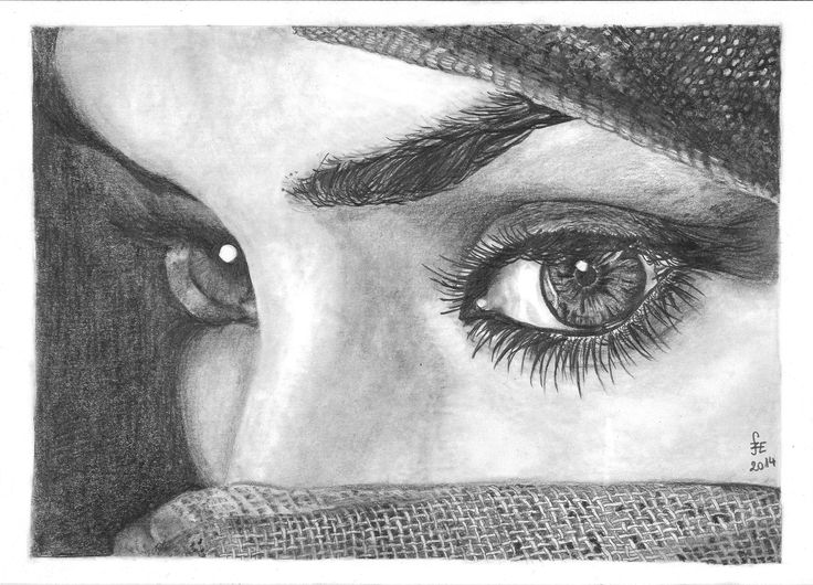 Eyes, graphite drawing by Erika Székesvári https://www.facebook.com/ercziart