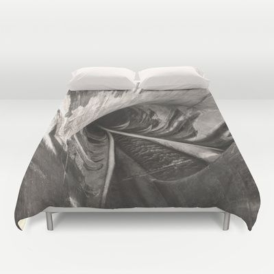Cover yourself in creativity with our ultra soft microfiber duvet covers. Hand sewn and meticulously crafted, these lightweight duvet covers vividly… #abyss #void #dam