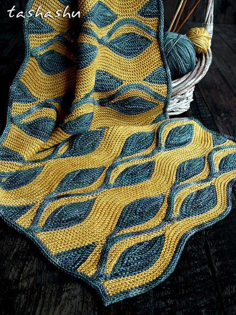 Ravelry: modello Sciarpa dell'ornamento di Svetlana Gordon