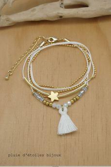 Bracelet ZOE blanc