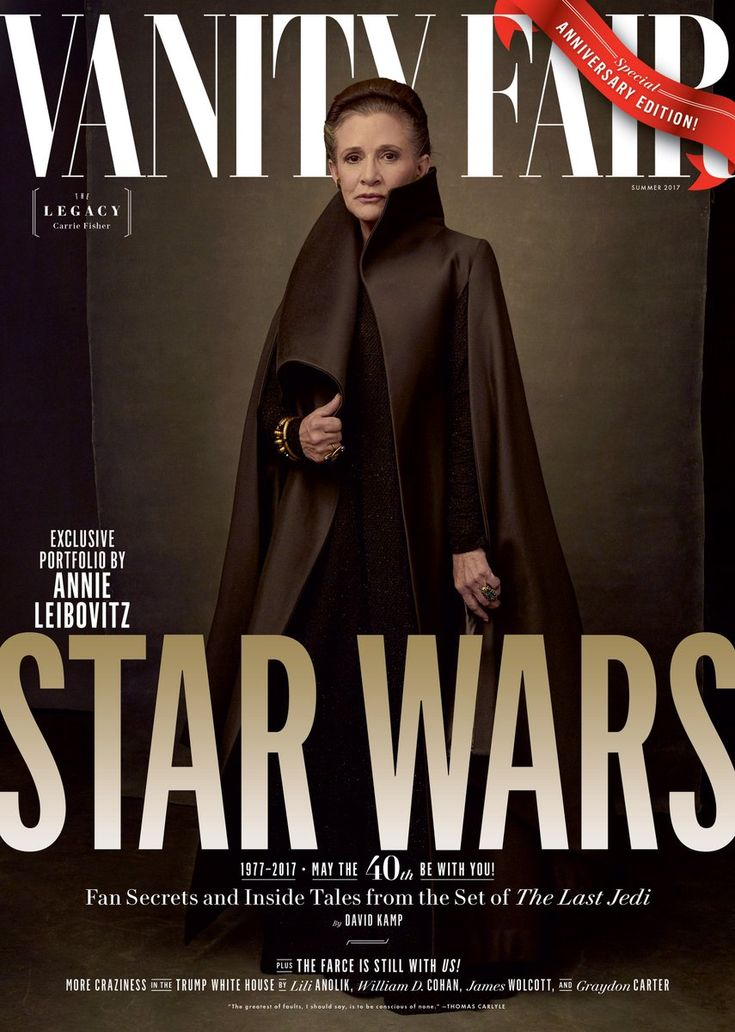 Star Wars: The Last Jedi Vanity Fair Cover