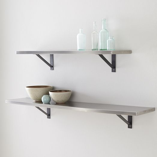 15 best b r wall shelf images on pinterest bathroom - Bathroom shelves stainless steel ...