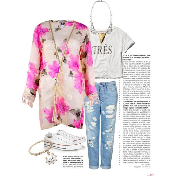 """Pink Floral Midi Cardi"" by hafsa-lodi on Polyvore"