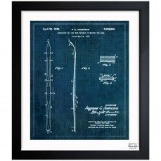 66 best blue print art images on pinterest fabrics frames and spotted this laminated ski by the oliver gal artist co on rue la la malvernweather Images