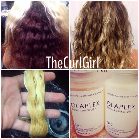 Curl University By The Curl Girl Olaplex Results On