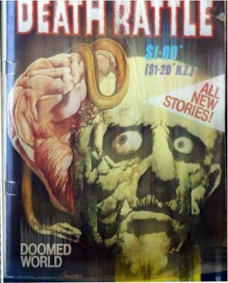 Death Rattle Australian Pre-Code Horror Comic? Death Rattle Australian Pre-Code Horror Comic?  I am sure it's No#1 and for the life of me I have searched all the huge sites and not one mention.  It