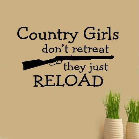 girls don't retreat decal