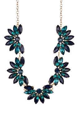 Half Flower Collar Necklace | Fashion Fashion