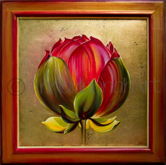 """""""Lotus Bulb"""" from the series """"In the Lotus Land"""""""