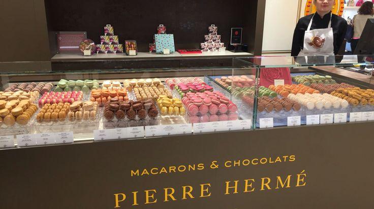 Macaroon heaven! #southoffrance #gallerielafayette #nice #cotedazur #frenchriviera