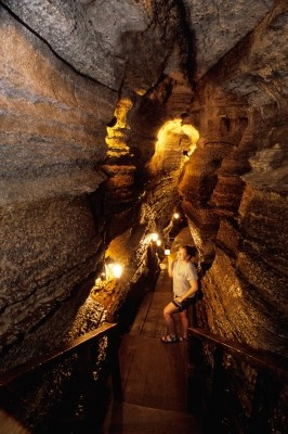 Bonnechere, Caves Ontario.  We went here on our Honeymoon.  Very Cool!