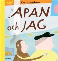 Apan och jag (EJ LÄST) Eva Lindströms Apan och jag är en rimmad bilderbok för de yngre barnen. Den handlar om en liten lekfull apa som rymmer från sin människovän. Vännen saknar apan och väntar desperat på att han ska komma tillbaka. Men läsaren vet var apan är, för han finns gömd nånstans på alla bilder!