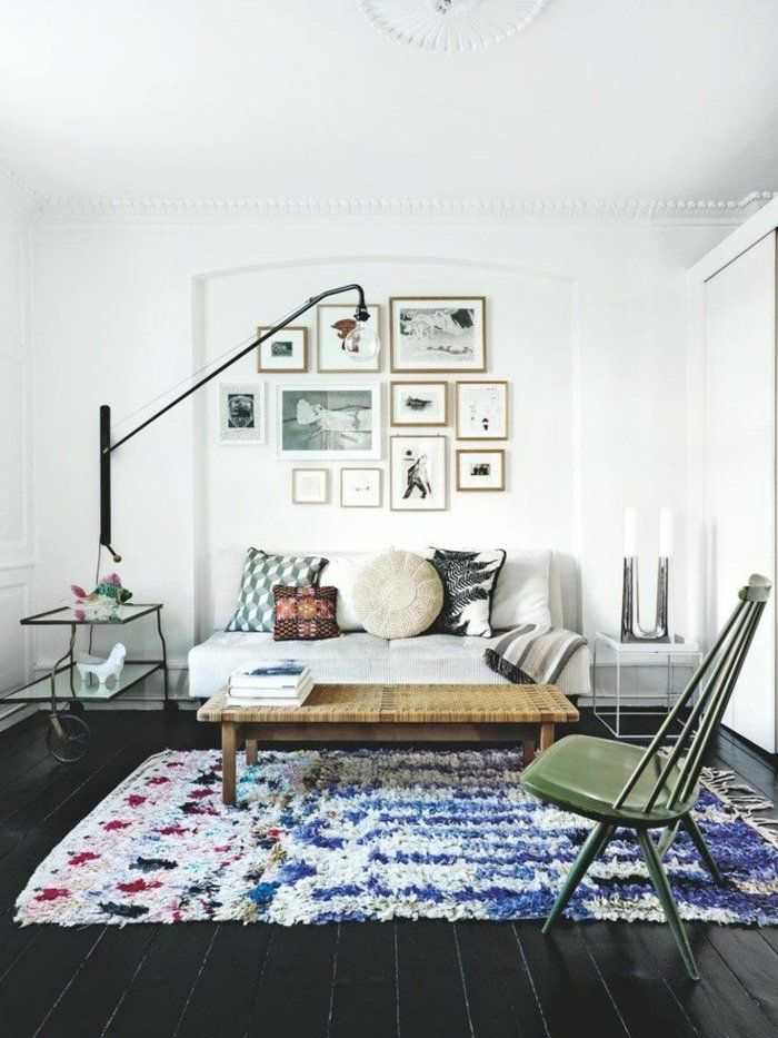 17 meilleures idees a propos de tapis decoratifs sur for Tapis berbere avec console de canapé