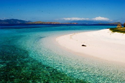 One day i will travel to Indonesia. And i will walk on a beach that is this white.