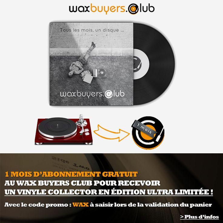 A l'occasion du Disquaire Day, Cobra vous offre 1 mois d'abonnement au Waxbuyersclub pour l'achat d'une platine #vinyle ! Profitez-en dès maintenant | #DisquaireDay #PlatineDisque #WaxBuyersClub