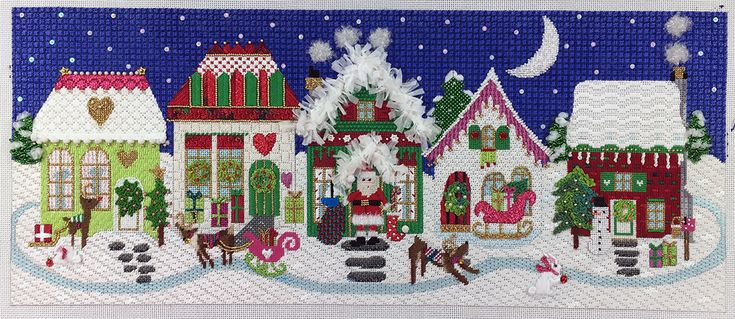 822 Best Needlepoint Canvases Amp Products 4 Images On