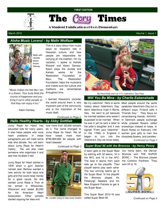 17 best School Newspaper Templates images on Pinterest Role - school newspaper template