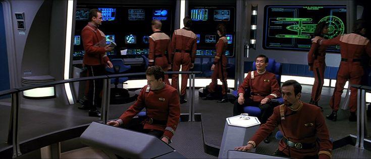 Star Trek VI - The Undiscovered Country (1991). Enterprise desk #UI.