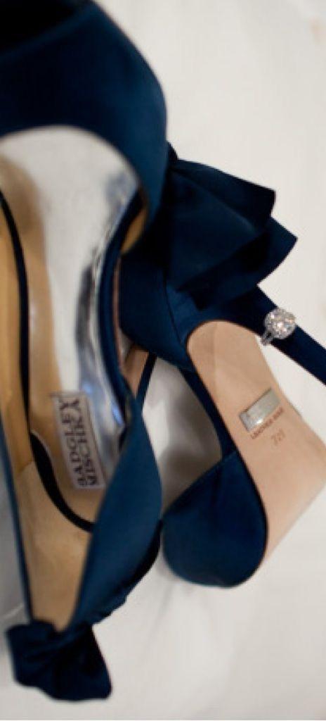 Bourne Francis - Zapatos de satén para mujer, Azul (Blau (Slate)), 40