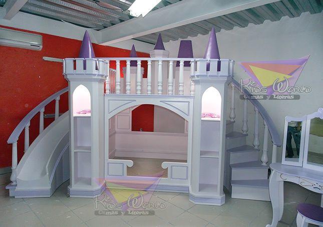 Camas infantiles de princesas en quer taro imagen 3 - Muebles princesa sevilla ...