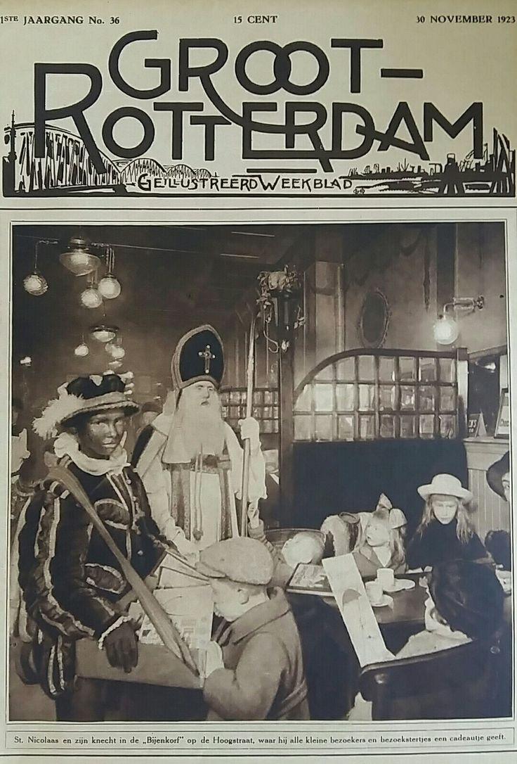 Groot Rotterdam 1923 (Sinterklaas cover)