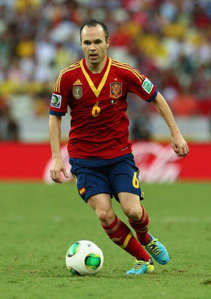 Spain football stars | Andrés Iniesta