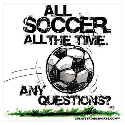 All Soccer Poster