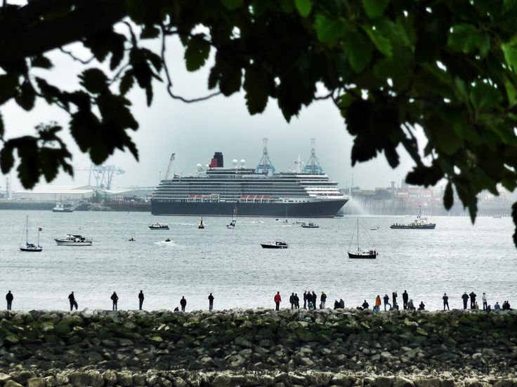 Visit of the three Cunard Queens